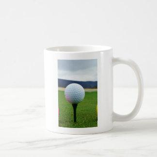 Golf Ball on a mountain golf course Coffee Mug