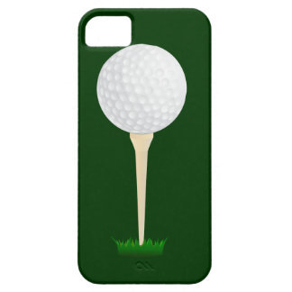 Golf Ball on a Tee iPhone SE/5/5s Case