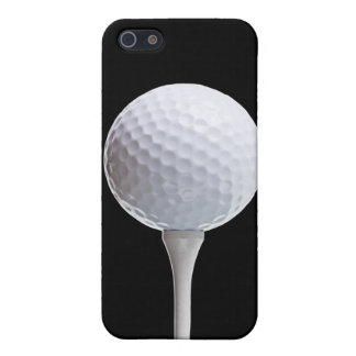 Golf Ball on Black - Customized Template Case For iPhone SE/5/5s