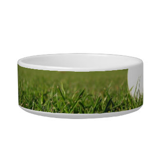 Golf Ball on Course Pet Bowl