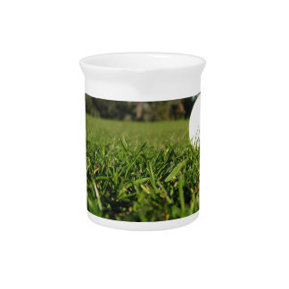 Golf Ball on Course Pitcher