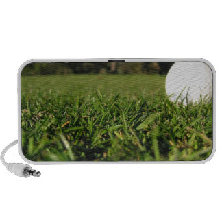 Golf Ball on Course Speakers