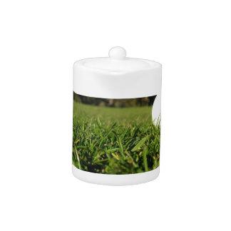 Golf Ball on Course Teapot