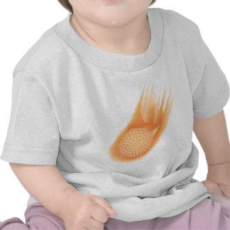 golf ball on fire t-shirt
