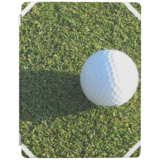 Golf Ball on Golf Green iPad Cover