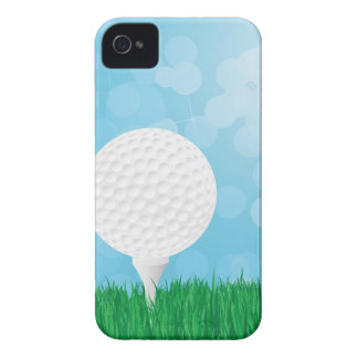golf ball on grass iPhone 4 covers
