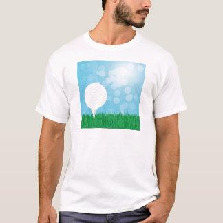 golf ball on grass T-Shirt