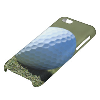 Golf Ball on Green close-up photo Cover For iPhone 5C