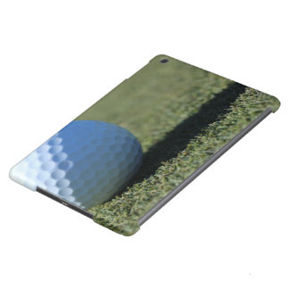 Golf Ball on Green close-up photo iPad Air Covers