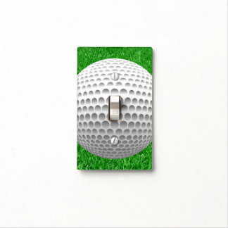 Golf Ball On Lawn Light Switch Cover