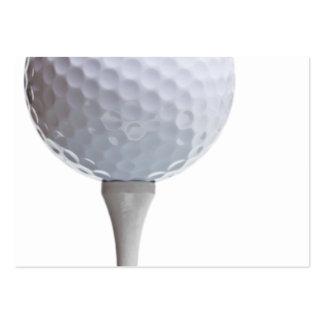 Golf Ball on Tee- Customized Business Card Templates