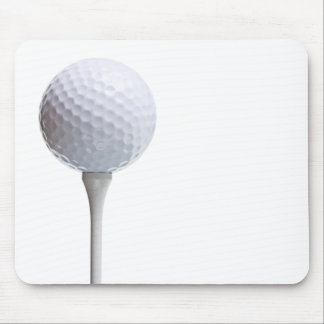 Golf Ball on Tee- Customized Mouse Pad