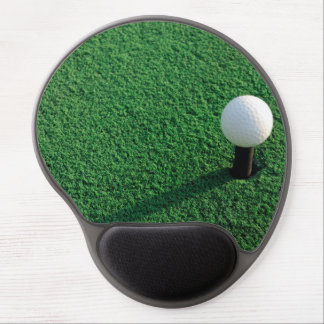 Golf Ball on Tee Gel Mouse Pad