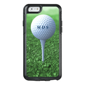 Golf Ball on Tee Green Grass Otterbox Monogram OtterBox iPhone 6/6s Case