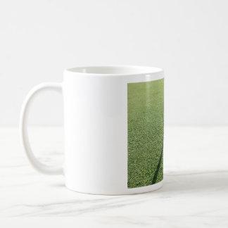 Golf ball on the Green Classic White Coffee Mug