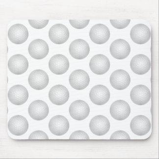 Golf Ball Pattern Mouse Pad