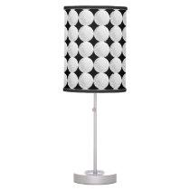 Golf Ball Pattern Table Lamp