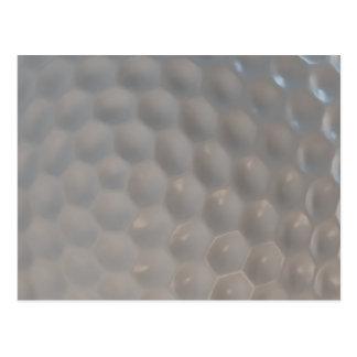 Golf Ball Pattern Texture Postcards