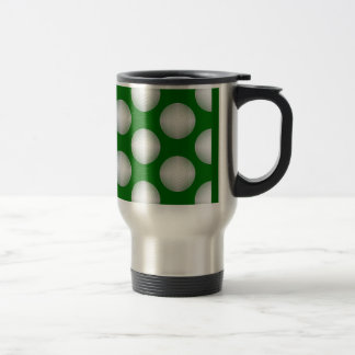 Golf Ball Pattern Travel Mug