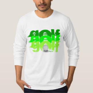 Golf ball, personalized, golfer tee shirt