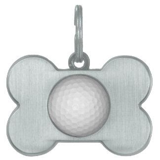 Golf Ball Pet ID Tag