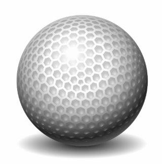 Golf Ball Standing Photo Sculpture