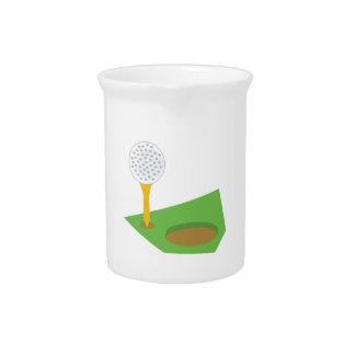 Golf Ball Beverage Pitcher