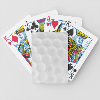 Golf Ball Playing Cards