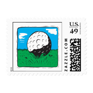 Golf Ball Postage