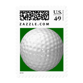 Golf Ball Postage Stamps