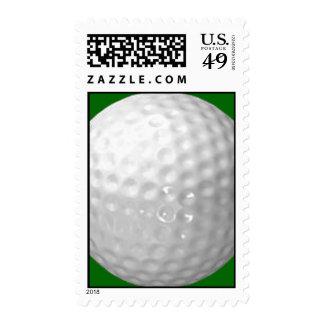 Golf Ball Postage Stamps