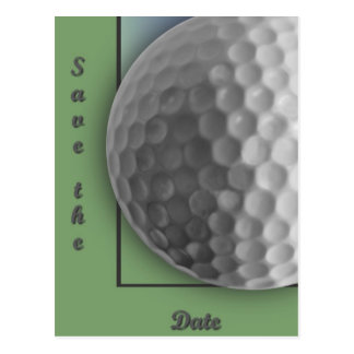 Golf Ball Postcard