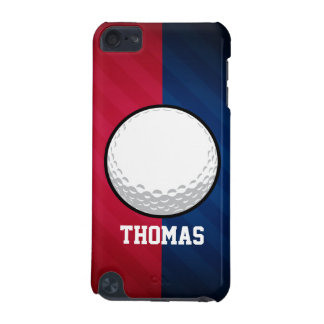 Golf Ball; Red, White, and Blue iPod Touch (5th Generation) Case