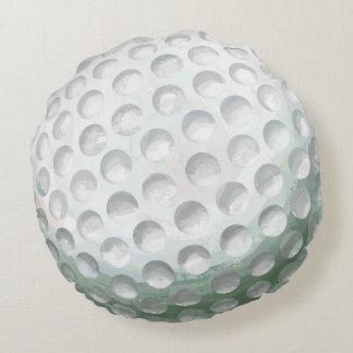 Golf Ball Round Pillow