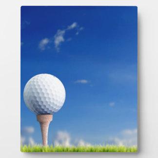 Golf Ball Sky Plaque
