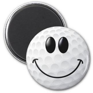 Golf Ball Smiley Face Fridge Magnets