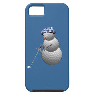 Golf Ball Snowman iPhone SE/5/5s Case