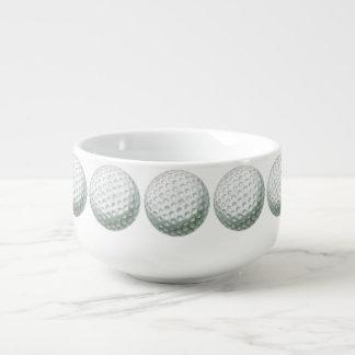 Golf Ball Soup Mug