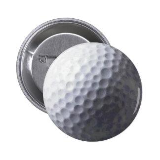Golf Ball Sports Button Design