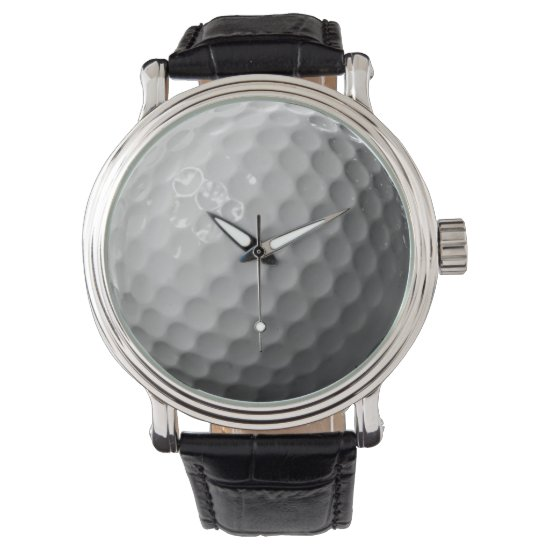 golf ball sports design watch