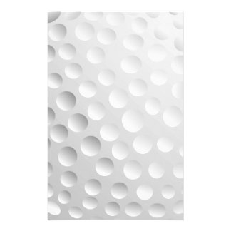 Golf Ball Stationery