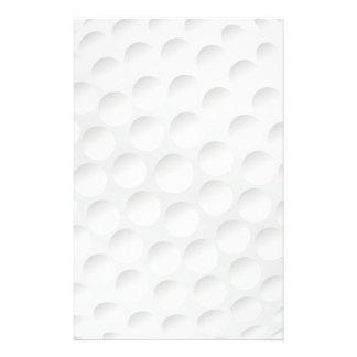 golf ball stationery