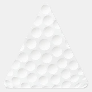 golf ball triangle sticker