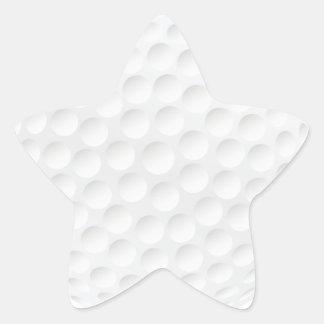 golf ball star stickers