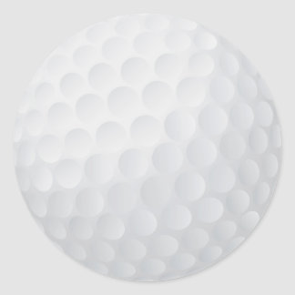 golf ball sticker
