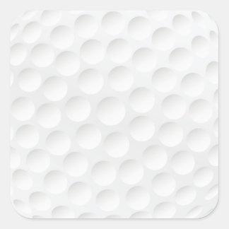 golf ball square stickers