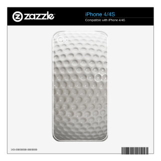 Golf Ball Surface Close Up iPhone 4S Skins