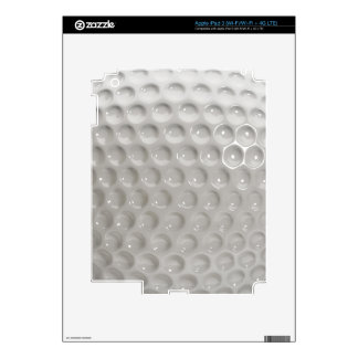 Golf Ball Surface Close Up Skin For iPad 3