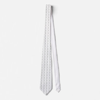 Golf Ball Surface Dimples Neck Tie
