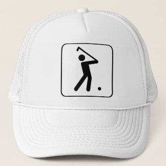 Golf Ball Symbol Hat